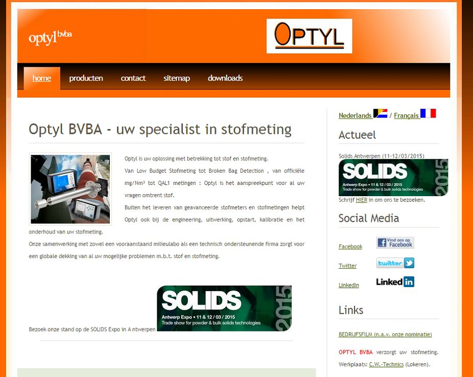 Optyl Uw specialist in stofmeting